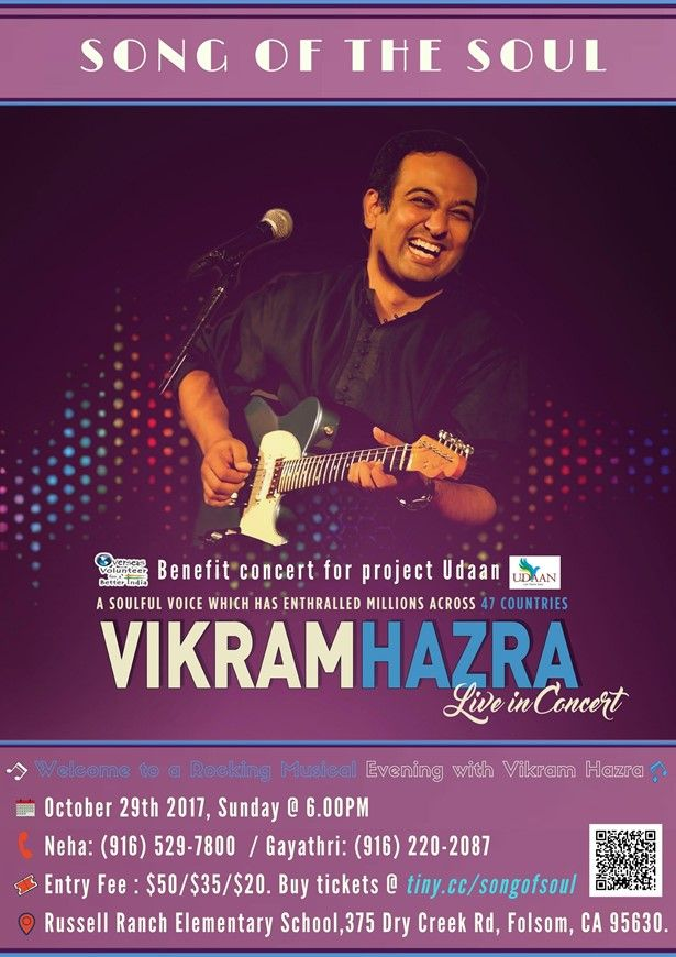 Song of the Soul - Vikram Hazra Live in Concert - Sacramento