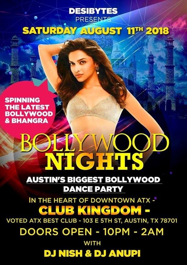 Bollywood Nights - DJ Nish & DJ Anupi