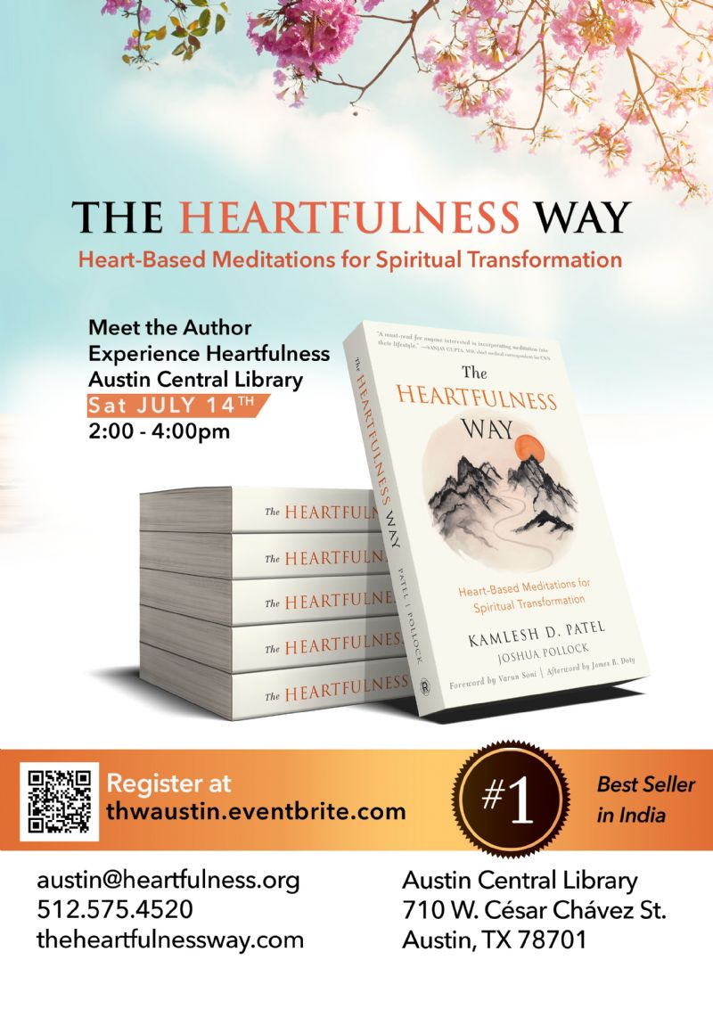 The Heartfulness Way Book - Meet the Author & Experience Heartfulness