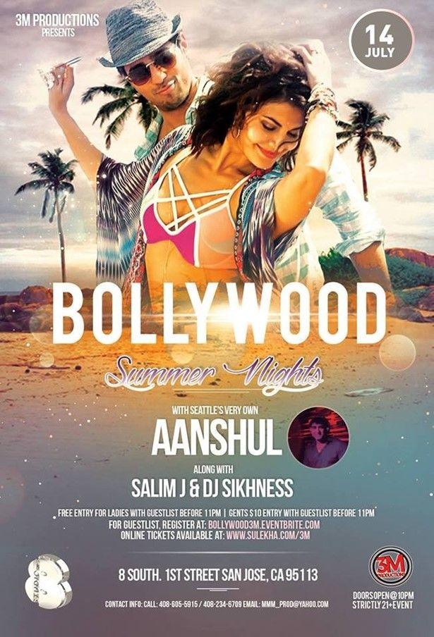 Bollywood Summer Nights with DJ Aanshul