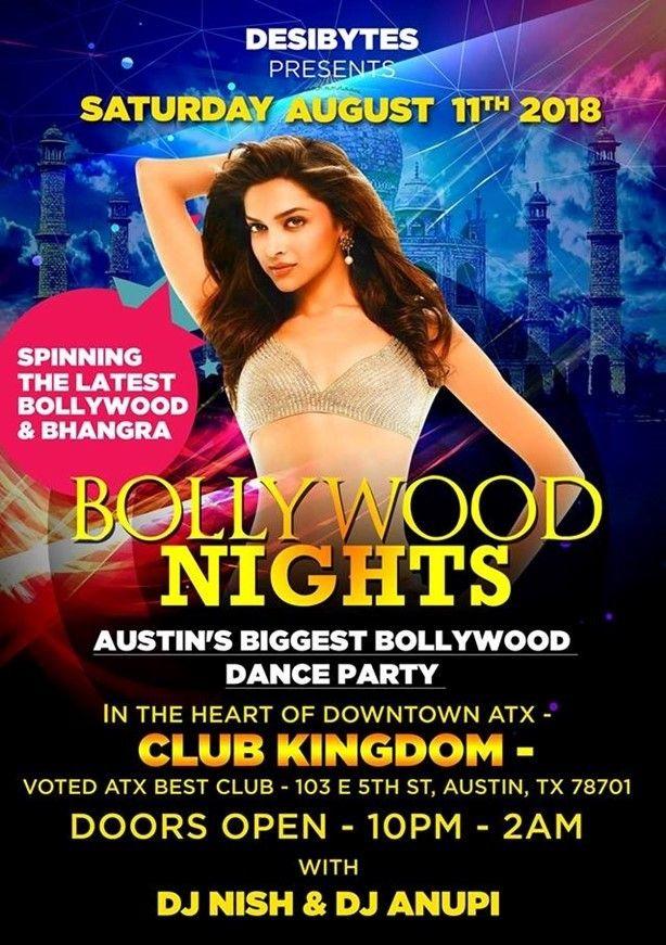 Bollywood Nights - DJ Nish & DJ Anupi