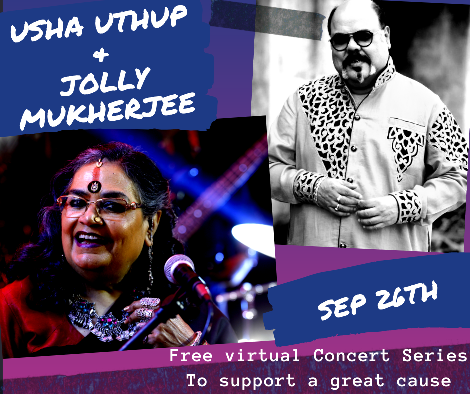 Usha Uthup & Jolly Mukherjee FREE* Virtual Musical Concert!